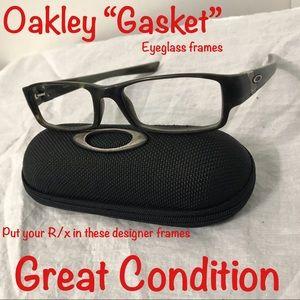 """Oakley """"Gasket"""" eyeglass frames"""